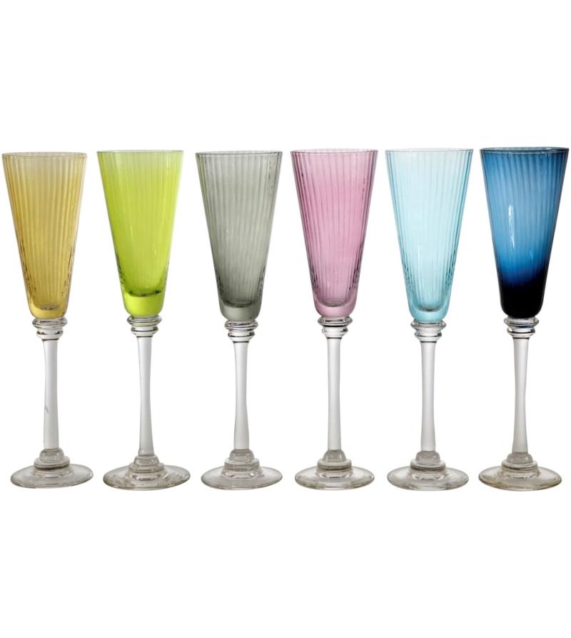 Набор бокалов для шампанского Лулу