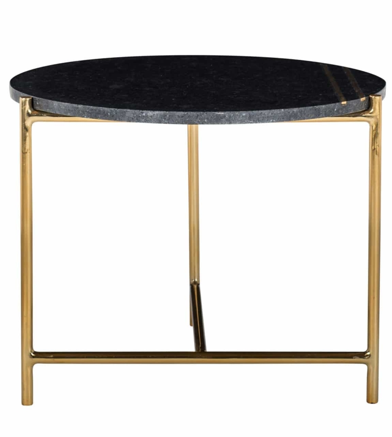 Столик для кофе Casey мраморный черный