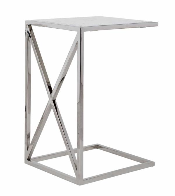 Придиванный столик Mona мрамор
