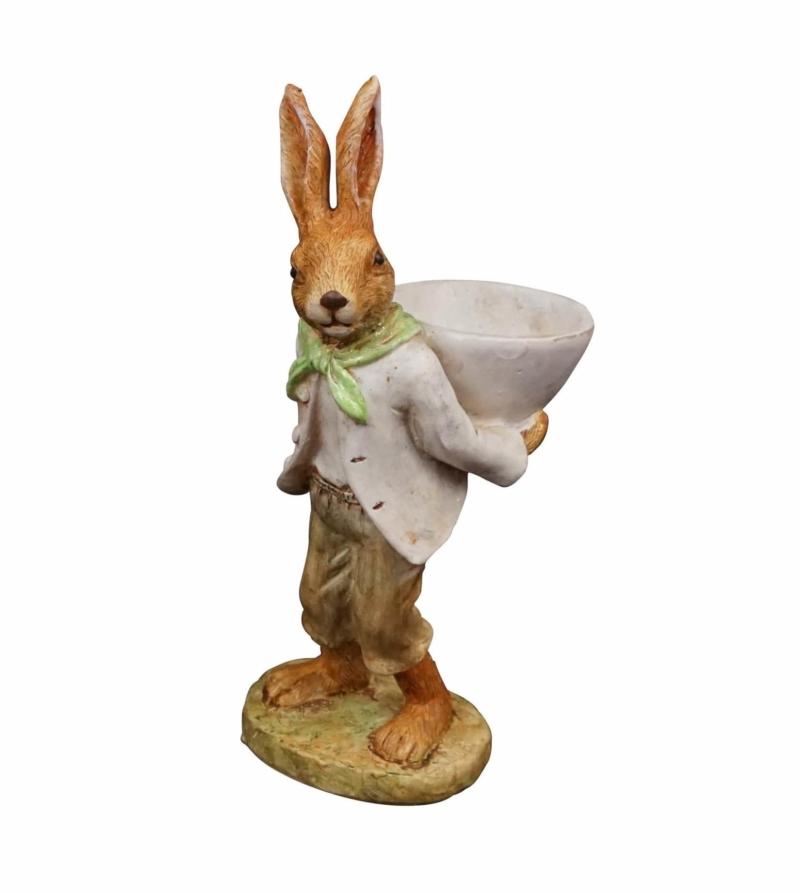 Набор статуэток Пасхальные кролики
