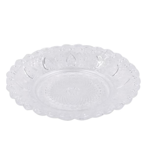 Стеклянная тарелочка Фаро
