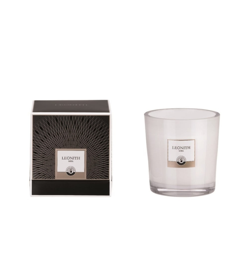 "Ароматизированная свеча Crystal Ivory ""MIRA"""