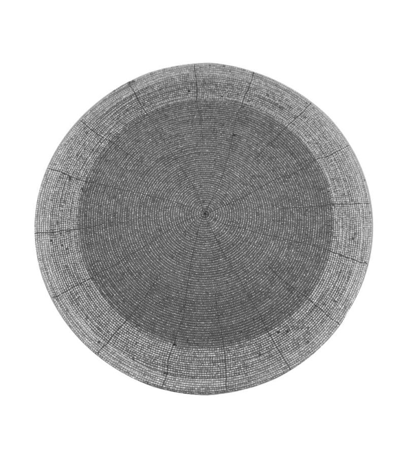 Сет Koopman из бисера серебряный 35 см