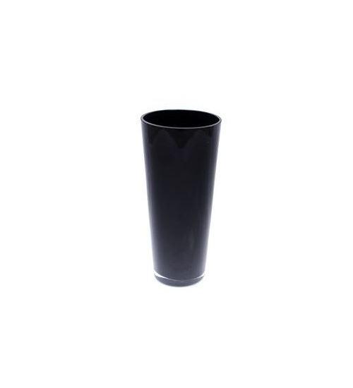 Ваза HAKBIJL GLASS черная 30 см