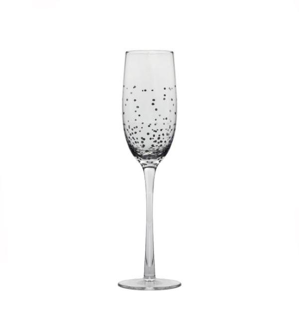 Бокал для шампанского серебряная капля
