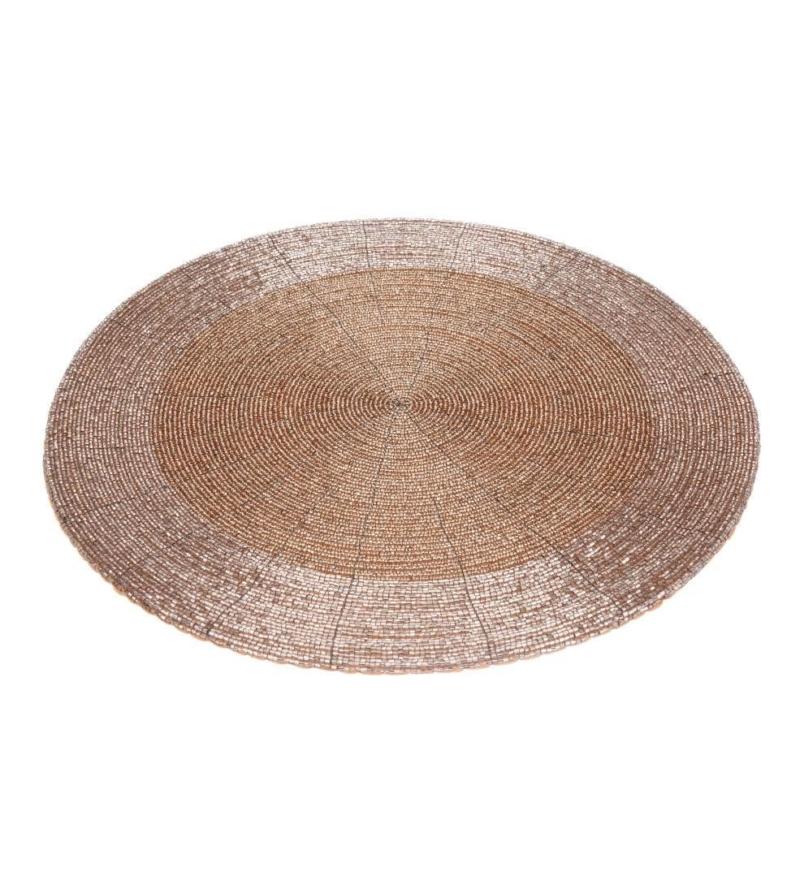 Сет с бисером круглый, диаметр 35 см