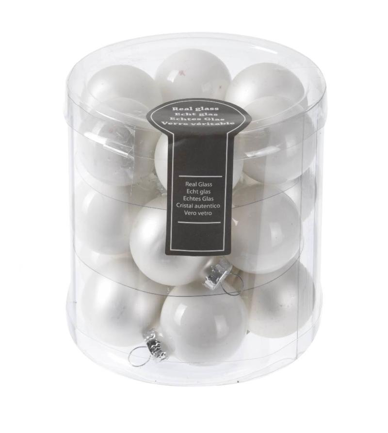 Новогоднее елочное украшение — шарик, набор из 10 шт, 30 мм