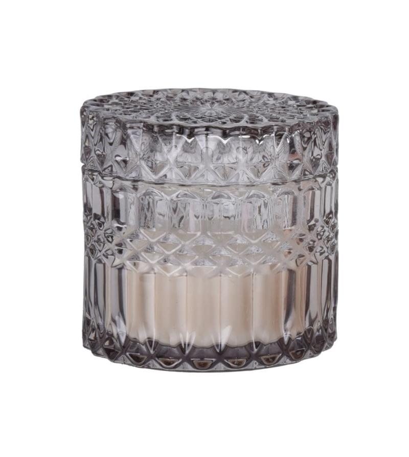 Свеча в стакане с крышкой, 8 см
