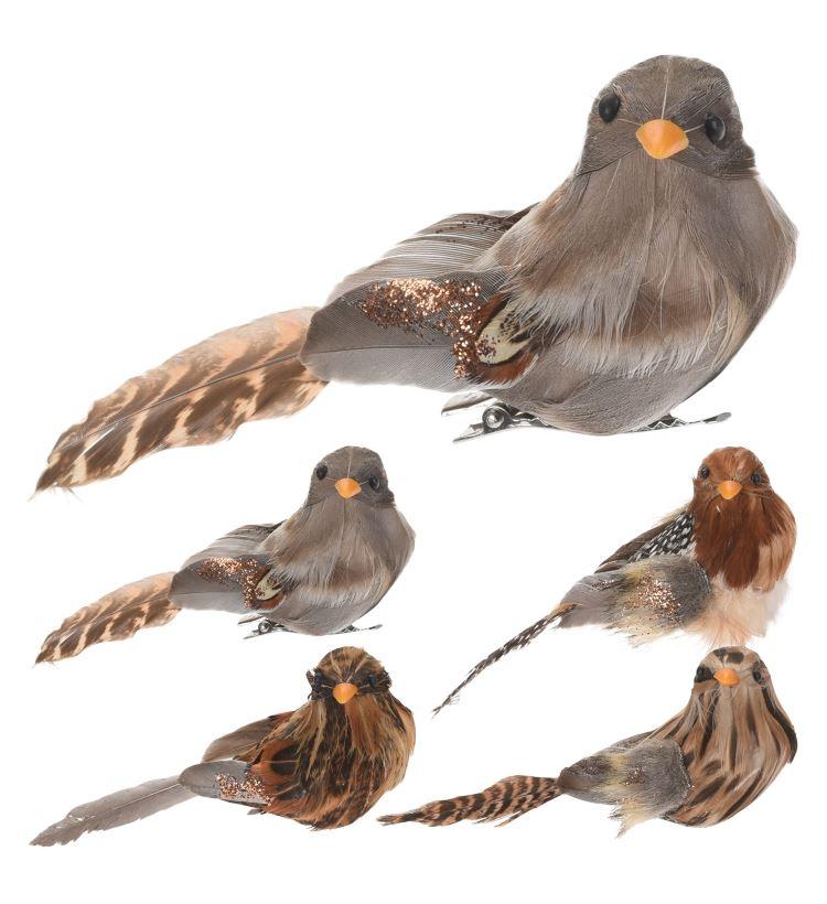 Декоративная фигура птицы на прищепке